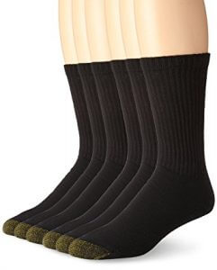 Gold Toe Men's 6-Pack Cotton Crew Athletic Sock