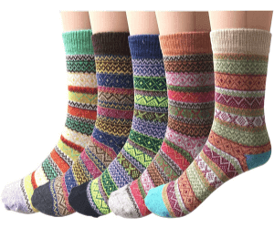 Vintage Soft Cabin Warm Socks