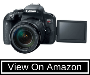 Canon EOS REBEL T7i EF-S Review