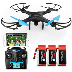 Force1 U45W Blue Jay Drones with Camera